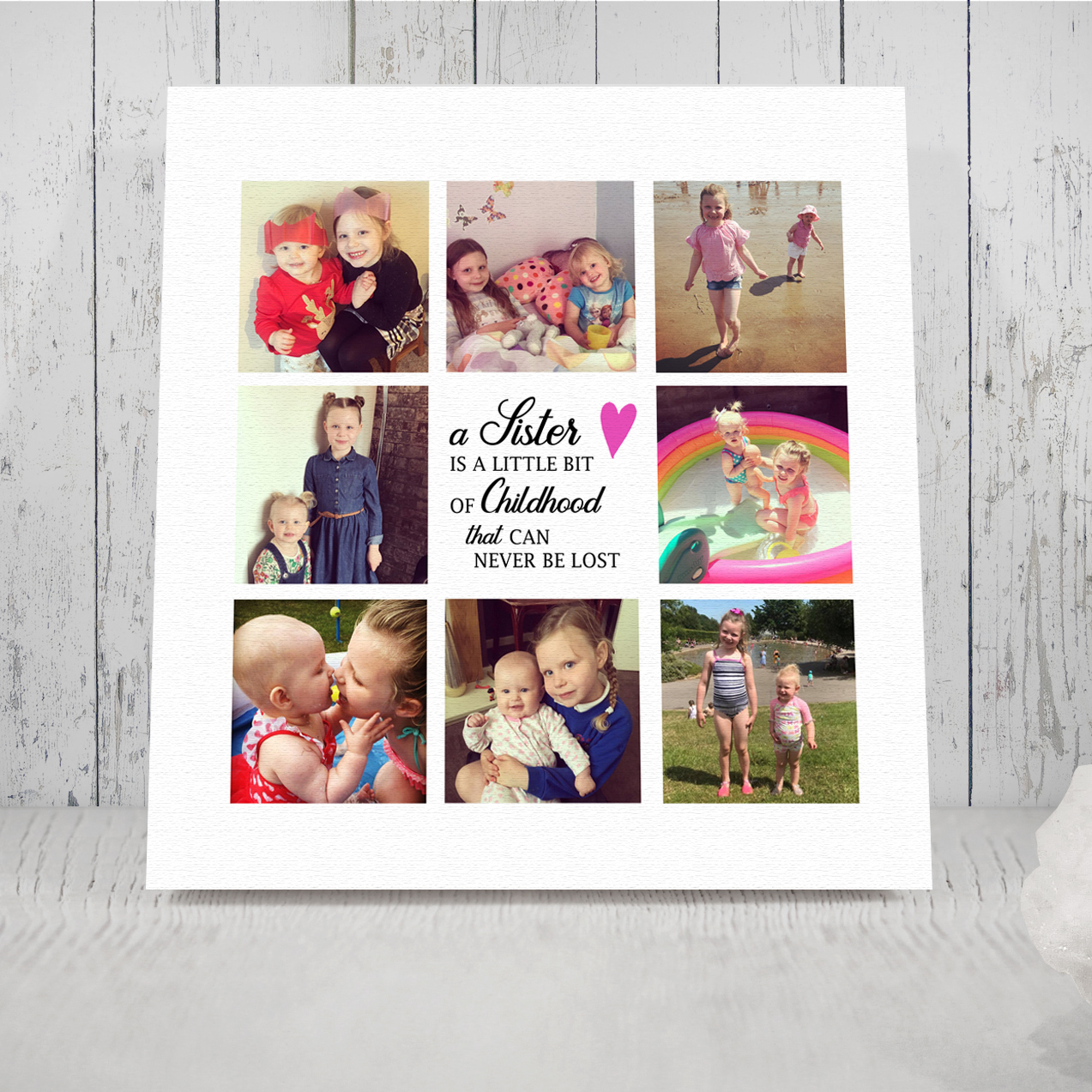 Photo Canvas and Collage Prints