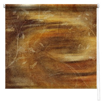 Misty Morning abstract printed blind