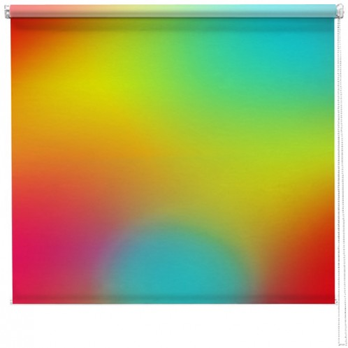 Abstract colours printed blind