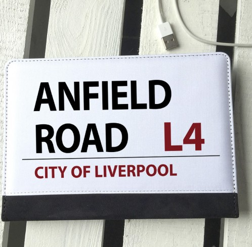 Anfield Road sign ipad mini case