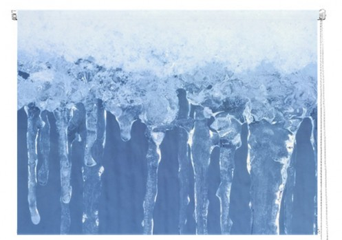 Icicles printed blind