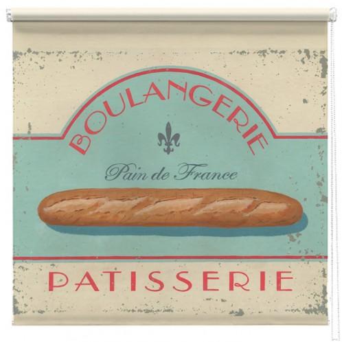 Boulangerie Pattisserie printed blind martin wiscombe