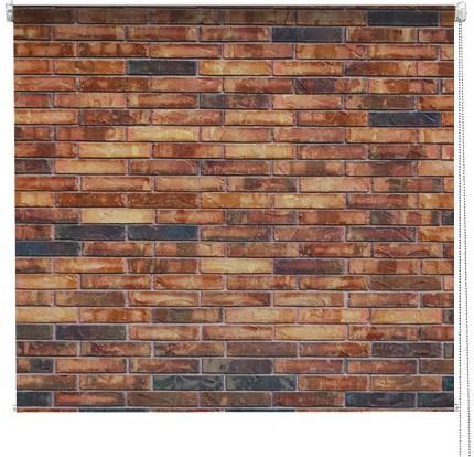 Brick Pattern printed blind