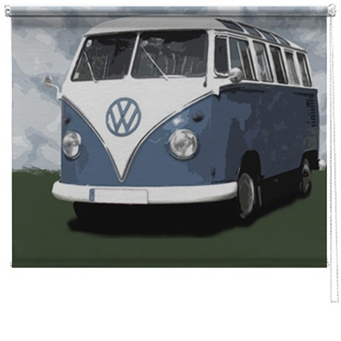 VW Camper van printed blind