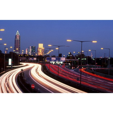 city lights canvas art
