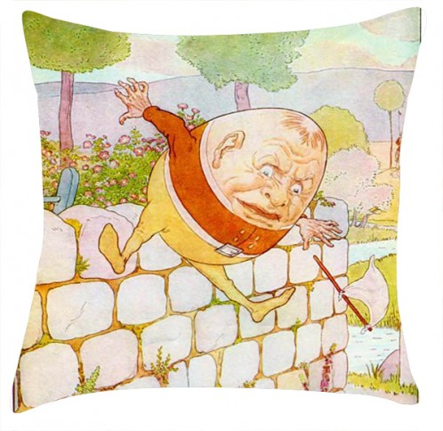 Humpty Dumpty cushion