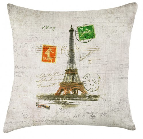 Paris Vintage cushion