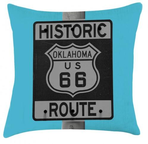 Route 66 cushion