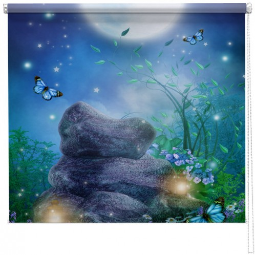 Moonlight dream printed blind