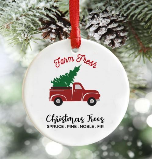 Farm Fresh Trees christmas decoration