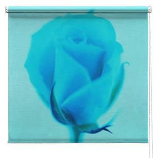Rose flower printed blind
