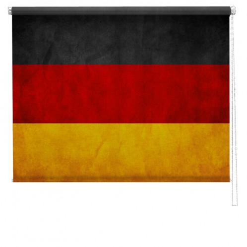 German flag printed blind