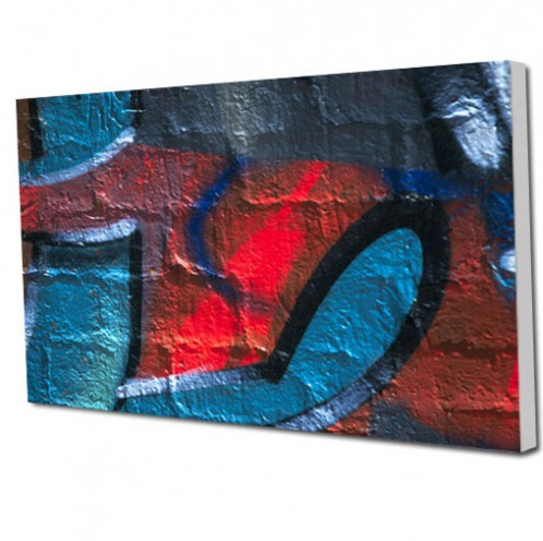 Graffiti canvas art