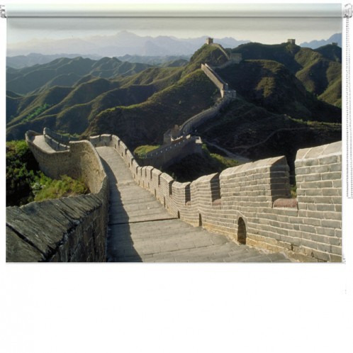 Great wall of China printed blind