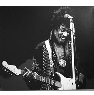 Jimi Hendrix printed blind