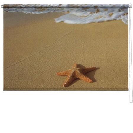 Starfish printed blind