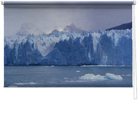 Antarctic printed blind