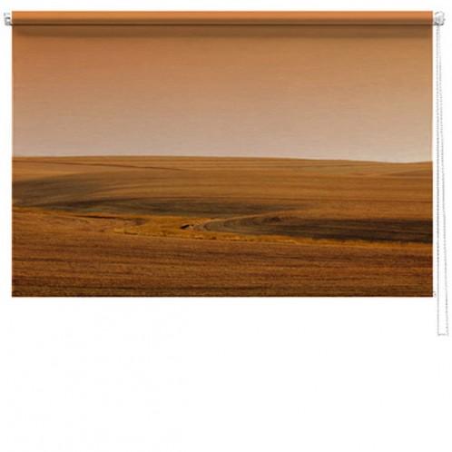 Landscape photo printed blind