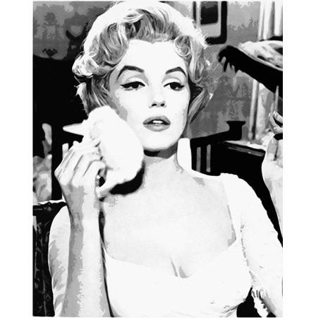 Marilyn Monroe printed blind
