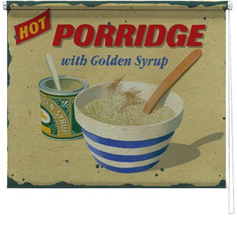 Porridge printed blind martin wiscombe