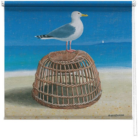 Seagull printed blind martin wiscombe