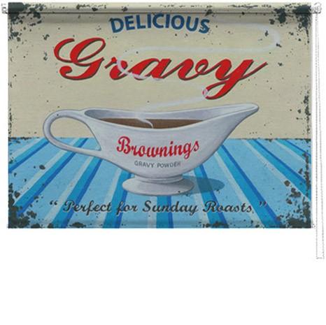 Gravy jug printed blind martin wiscombe