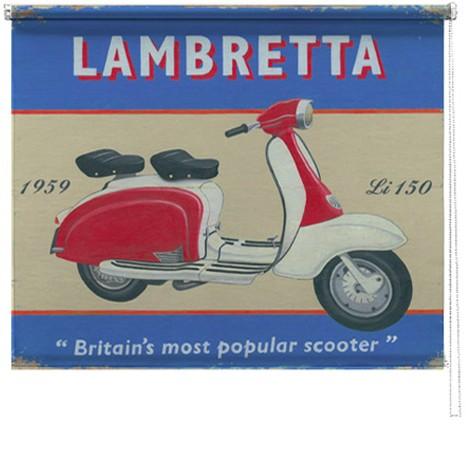 Lambretta printed blind martin wiscombe