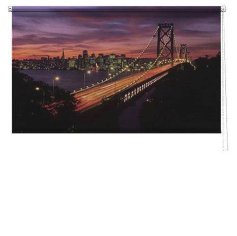 New York Skyline Printed Blind