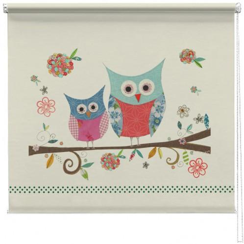 Owl sisters printed blind kim anderson