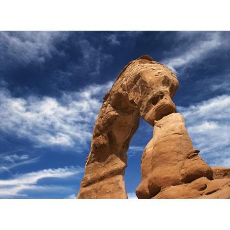 Rock landscape canvas art