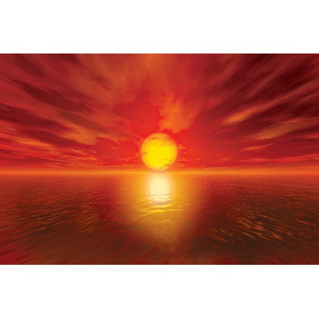 Sunset canvas art