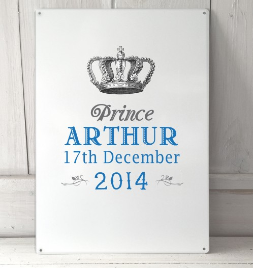 Personalised Prince Sign