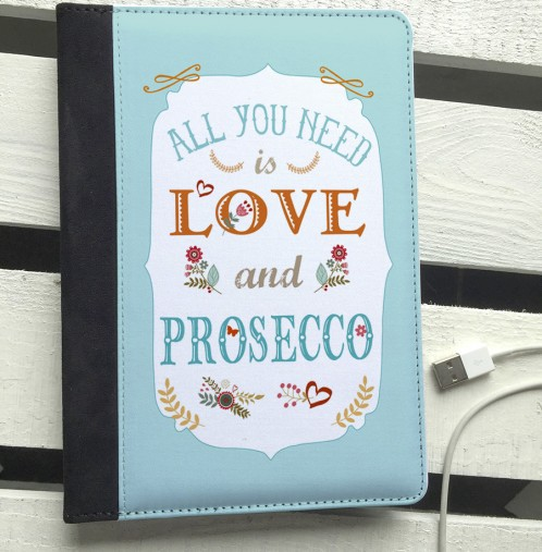 All you need is Love & Prosecco ipad mini case
