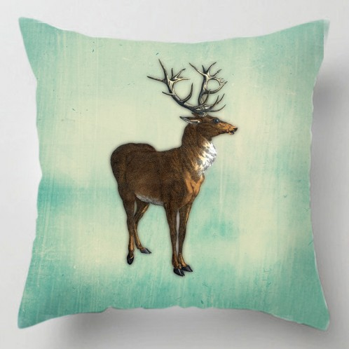 Vintage Stag cushion
