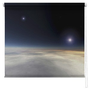 Space Planet printed blind