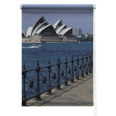 Sydney Opera house printed blind