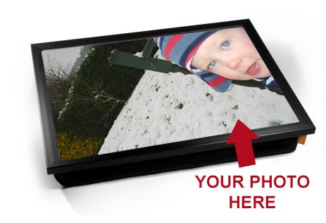 Personalised Photo laptray