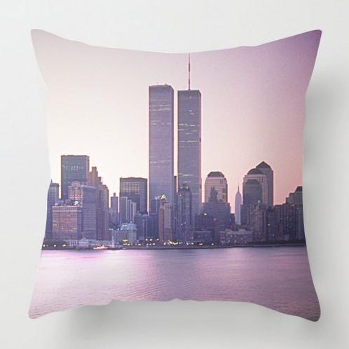 Twin Towers cushion