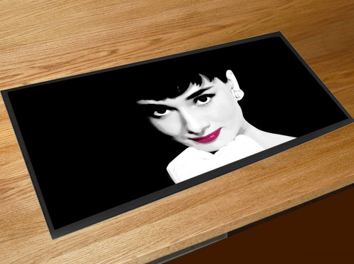 Audrey Hepburn bar runner