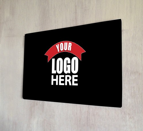 Personalised logo Metal sign