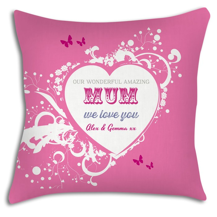 Wonderful Mum Personalised Cushion Great Mothers Day Gift