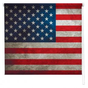 Stars & Stripes American flag printed blind