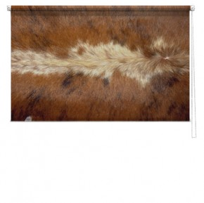 Animal Fur printed blind