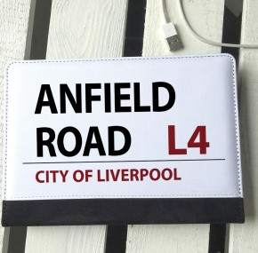 Anfield Road sign ipad mini case