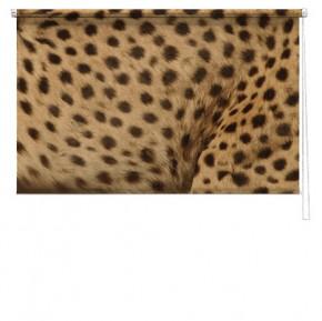 Leopard print blind