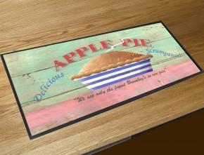 Apple Pie bar runner counter mat