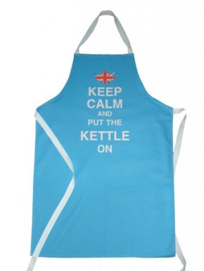 Keep Calm and put the Kettle one apron