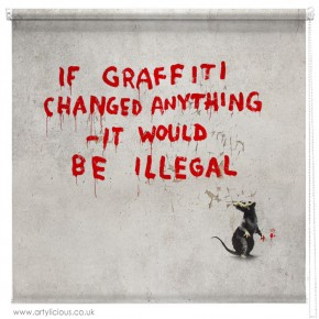 Banksy if graffiti changed blind