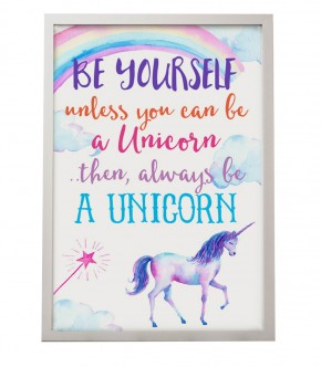 Always be a Unicorn print canvas, poster
