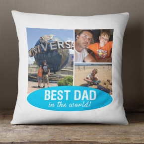 Best Dad, Photo collage cushion